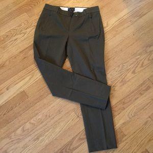 Jcrew Maddie olive green pants